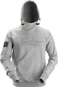 Gr cappuccio Felpa Logo cappuccio Felpa con Pulli grigia con xxl Snickers F1w5zTx1