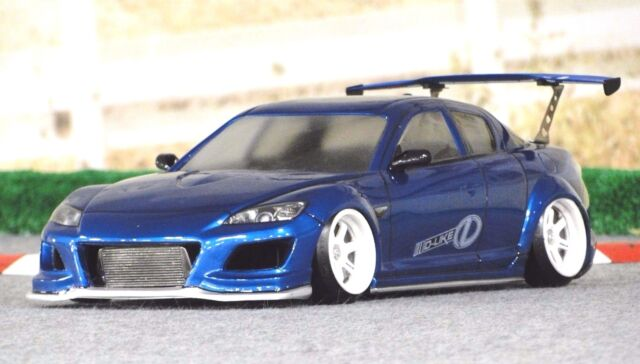 D Like 1 10 Rc Mazda Rx 8 Spirit 195mm Clear Body Drift
