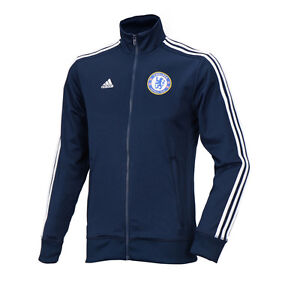 Activewear Adidas Chelsea Fc 3s Track Top Training Jacket Ac6404 Soccer Football Wear To Win Warm Praise From Customers