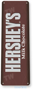 TIN SIGN Hershey's Chocolate Shop Store Kitchen Candy Bar A082