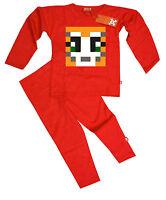 Kids Childrens Boys StampyLongNose StampyLongHead Stampy Pyjamas Pajamas (Red)