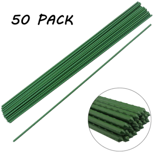 """50 Pack 48""""Plant Stakes Garden Tomato Sticks Plant Stakes For Potted Plants"""