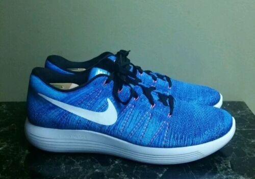 Low hombre 401 para Zapatillas Blue correr Sz White 15 Nike Lunarepic 843764 para Flyknit gw5xTMqCf