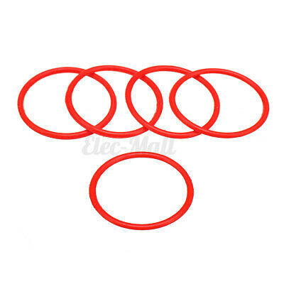 5x RUBBER BAND /& BELT Round Pulley Elastic Ime Education Lot For Lego Technic