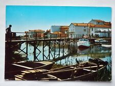 MARANO LAGUNARE laguna barche Udine vecchia cartolina