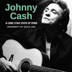 johnny cash new sealed 2019 unreleased austin texas 1994 live concert cd ebay. Black Bedroom Furniture Sets. Home Design Ideas