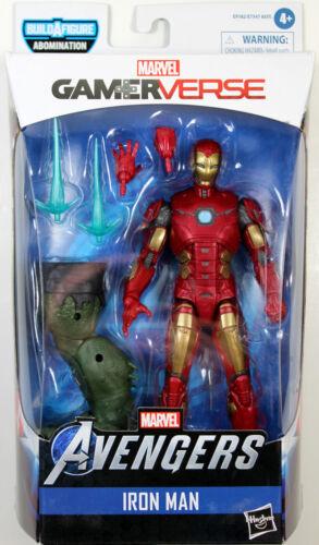 Marvel Legends ~ IRON MAN ~ Avengers gamerverse ~ Abomination BAF Series
