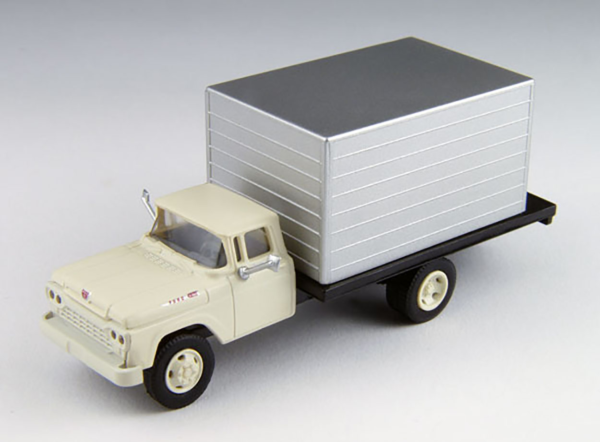 Classic Metal Works MWI30477 HO 1960 Ford Delivery Truck White Cab
