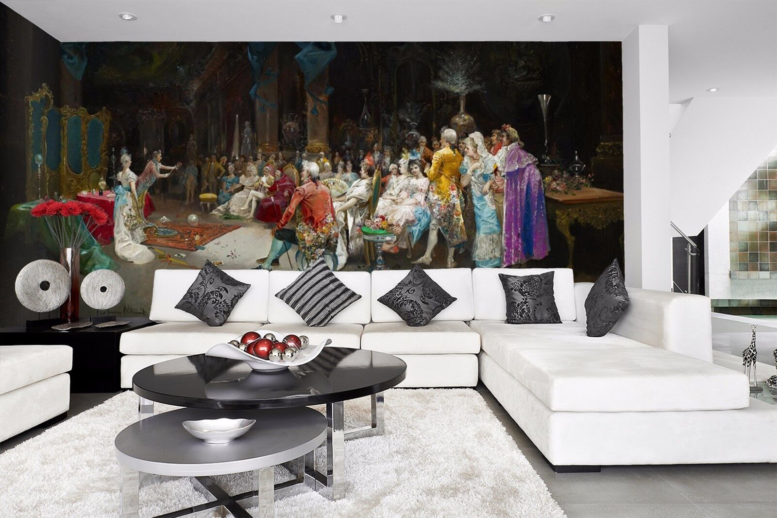 3D Banquet hall 3655  Wall Paper Wall Print Decal Wall Deco Indoor Wall Murals