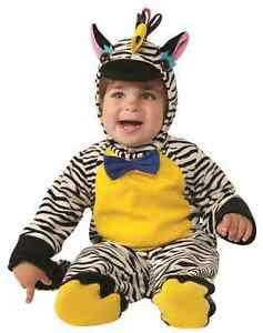 87979ca645743 Details about Zebra Noah s Ark Jungle Safari Animal Fancy Dress Halloween Baby  Child Costume