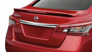 Fits 07-12 Nissan Sentra Custom Style Spoiler Wing Primer Un-painted