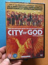 City Of God-Fernando Meirelles(R2 DVD)New+Sealed Rio Slum Subtitles Seu Jorge