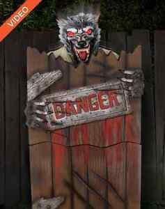 image is loading spirit halloween pop up werewolf animated animatronic prop