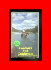 FLY-FISHING-VHS-VIDEO-COWBOYS-AND-CUTTHROATS-ROCKY-MOUNTAIN-FISHING-ADVENTURE