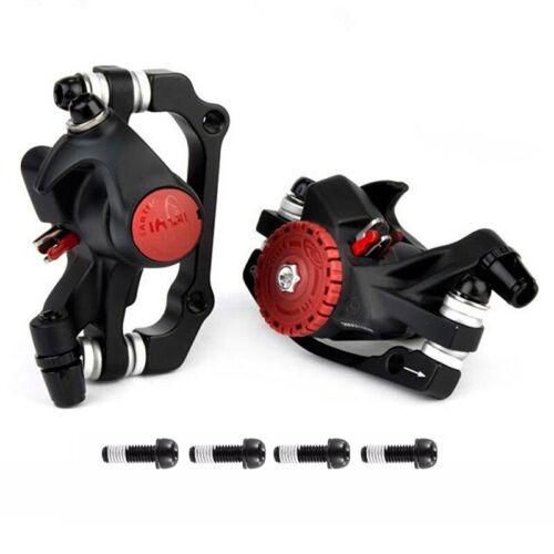 MTB Bicycle Mechanical Brakes Disc Front//Rear Caliper&160//180//203mm Rotors US