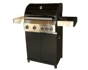 gas grill grillwagen bbq 3 1 edelstahl brenner gasgrillwagen los angeles ebay. Black Bedroom Furniture Sets. Home Design Ideas
