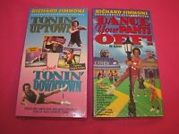 Richard Simmons Dance Your Pants Off Tonin Uptown & Downtown Vhs Set Sealed