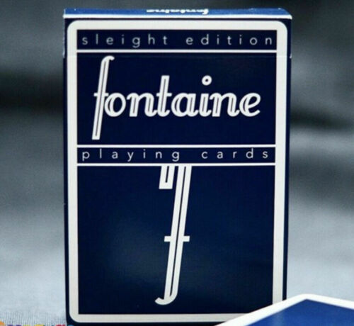 New sealed deck Fontaine Sleight playing cards