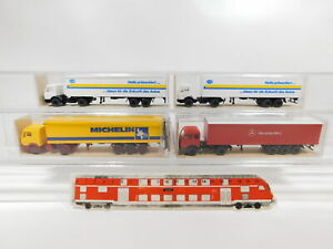 Cg441-0-5-4x-Wiking-h0-1-87-remolcarse-MB-540-Hella-541-542-2-Neuw-embalaje-original