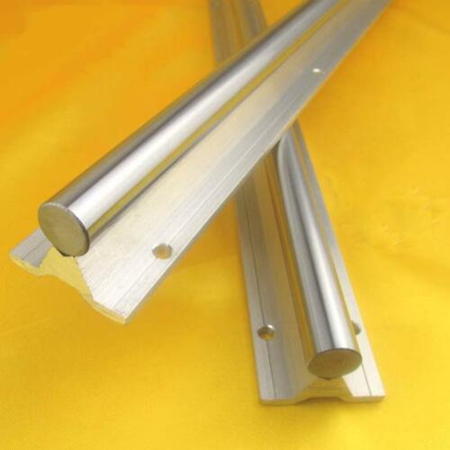 2X SBR12 1000mm  bracket Linear RAIL aluminum cylinder support