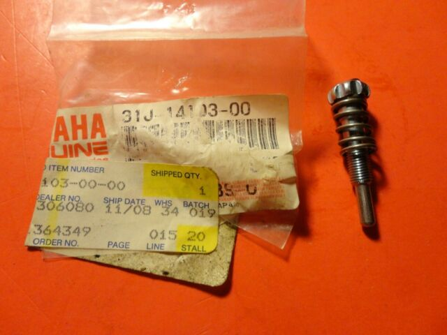 OEM Yamaha 537-14122-00-00 Throttle Screw NOS