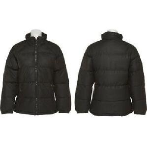 Puff lommer Mock Neck med frakke Black Pufferjakke Nwt Xxl Tallino lynlås OBqSII