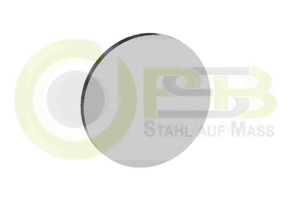 Abmessung: Ø 80 x 08 mm Stahl S235JR Platte roh Scheibe Ronde Stahlronde