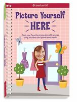 American Girl Book Picture Yourself Here Doll Story Paperback Spiral Bound
