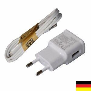 Samsung-Galaxy-S4-Ladegeraet-USB-Netzteil-mit-Ladekabel-Akku-Daten-Kabel-schnell