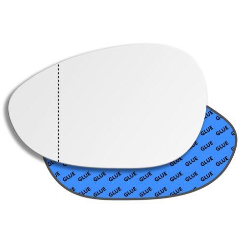 Links Asphärisch Fahrerseite Spiegelglas für Fiat Linea 2007-2015