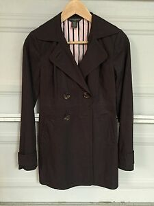 Banan Extra Jakke Trench Republic Cotton Small Xs Coat Brun HwHTzCSqx