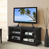 Universal Flat Screen Table Top Tv Mount Stand Lcd Led Plasma Base Pedestal