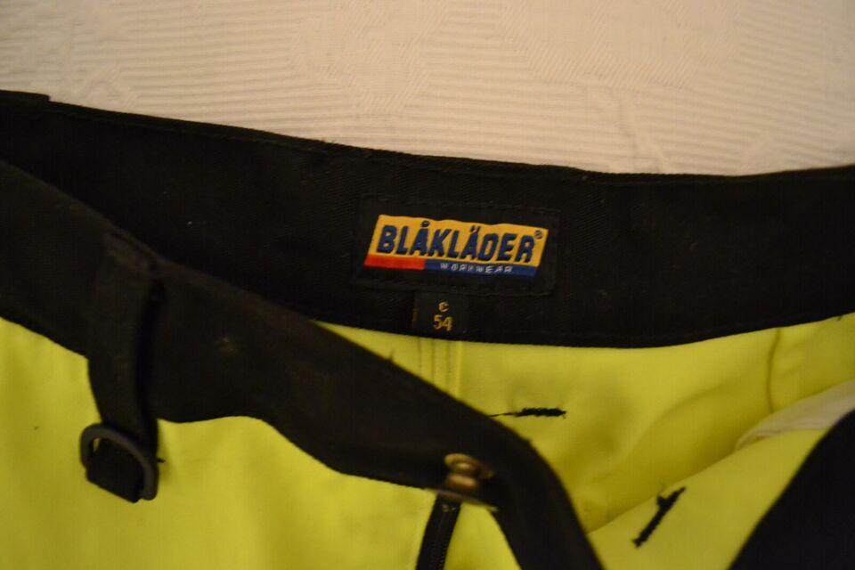 Blåkläder arbejdsbukser m. reflekser