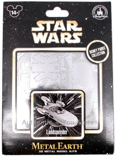 NEW Disney Parks Metal Earth 3D Model Kit LANDSPEEDER Star Wars A New Hope Luke