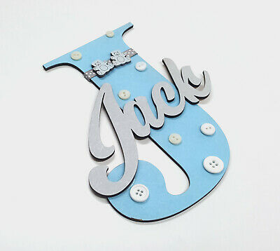 Wooden Letters With Personalised Name For Bedroom Doors Walls Or Toy Boxes 01 Sointechile Cl