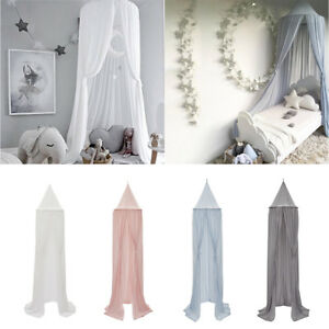 Image Is Loading Chiffon Kid 039 S Bed Canopy Dome Mosquito