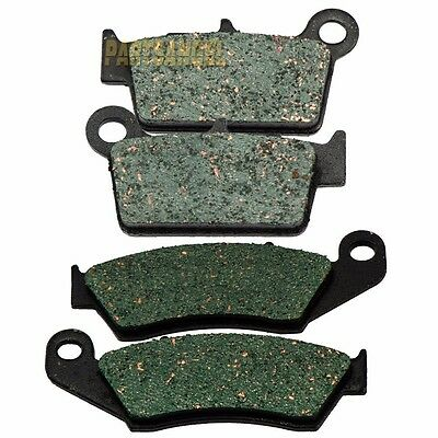FRONT /& REAR BRAKE PADS FITS YAMAHA YZ250F COMPETITION 250F 2007-2017