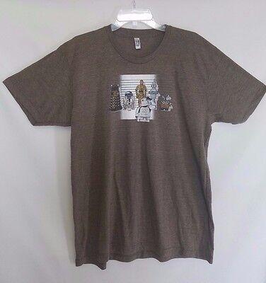 Rare Star Wars Dr Who Futurama Walle Storm Trooper SCI FI t-shirt t shirt XL