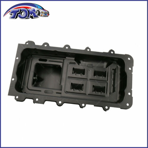 Oil Pan For 2009-2010 Ford F-150 5.4L 8Cyl Engine 7 Qts Capacity Steel Black