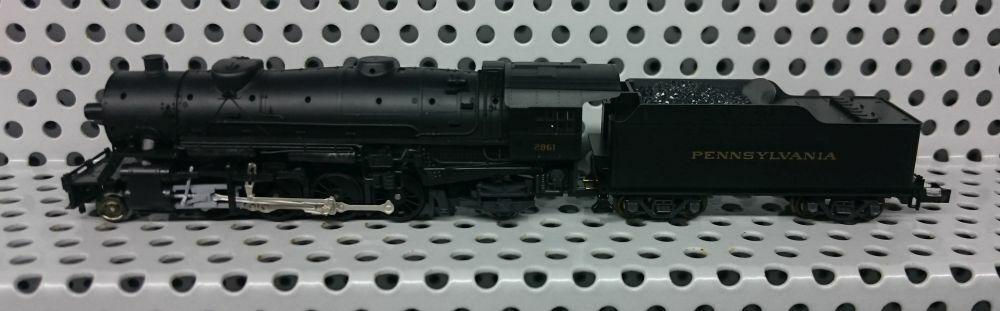 KATO N 126-0112 US-Dampflok 2-8-2    NEU & OVP