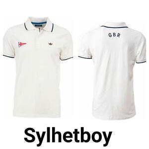 b7889d35 Adidas Original Men's Legacy Heritage GBR Golf Polo Shirt (X34716 ...