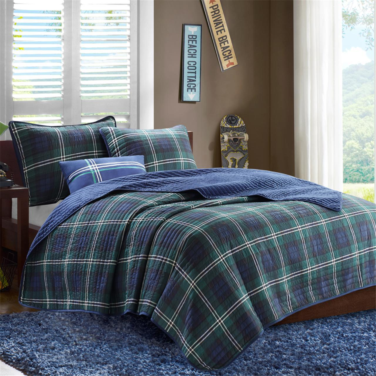 Mi Zone Brody Reversible Coverlet Set
