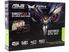 Asus Strix Geforce GTX 960 2GB GDDR5 Silent Gaming PCI-E Graphics Card