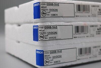 10Pcs G5NB-1A-E OMRON G5NB-1A-E-5V G5NB-1A-E-12V G5NB-1A-E-24V SPST-NO Relay