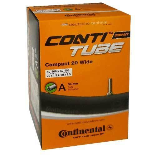Continental bicicleta manguera Conti Tube Compact 20 Wide
