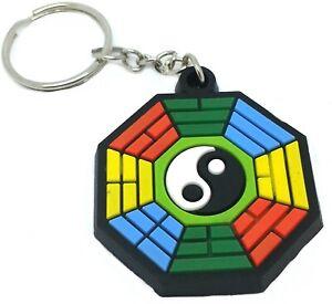 Yin-Yang-PVC-Rubber-Custom-Key-Rings-Key-chain