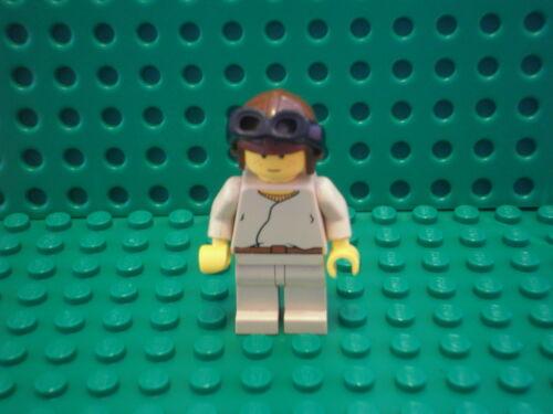 Anakin Skywalker Brown Helmet- Good Condition Star Wars Minifig Lego SW007