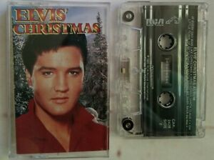 Elvis Presley Christmas Music.Details About Elvis Presley Christmas Cassette Blue Christmas Silent Night Vintage Music