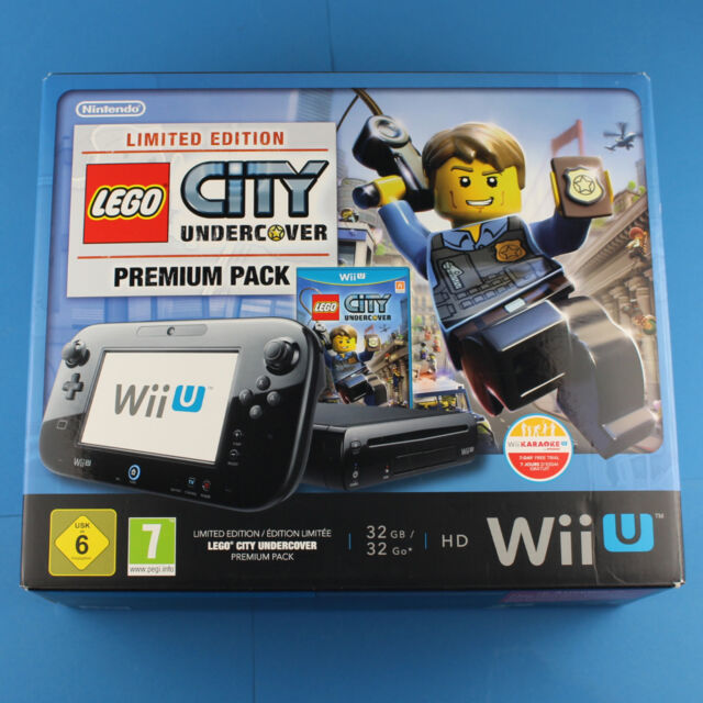 Nintendo Wii U Konsole Premium Pack 32GB Lego City super Limited Edition