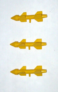 Missile Part GI JOE Bomb Parts RAH Vintage 1991 Badger